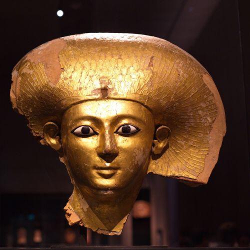 pharaonic gold mask munich