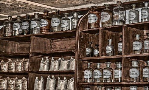 pharmacy  antique  old