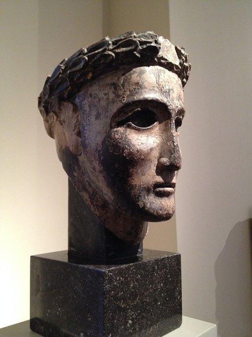 philosopher  statue  head