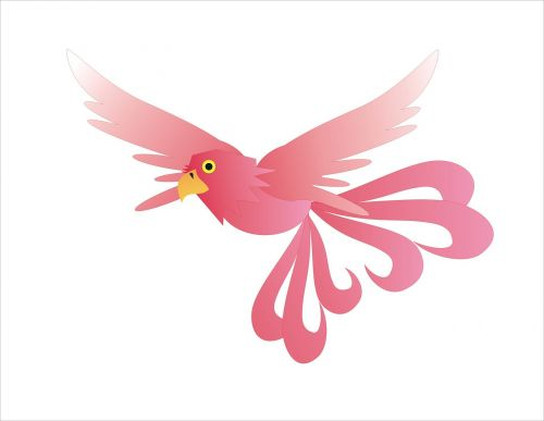 phoenix bird mystic