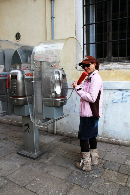 phone phone booth italy