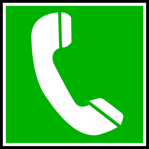 phone receiver telephone