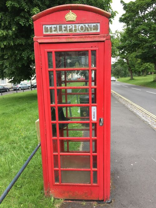 phone england phone booth