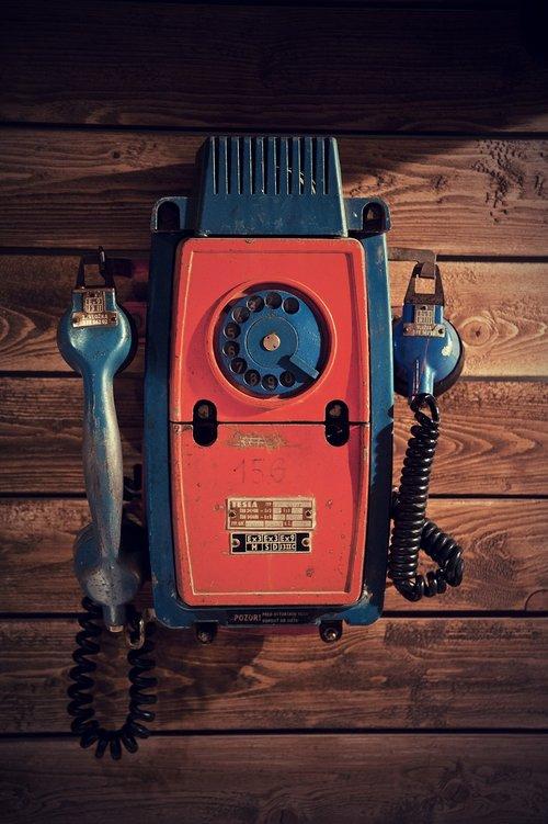 phone  the handset