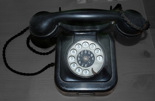 phone  dial  old
