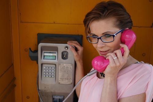 phone woman beauty