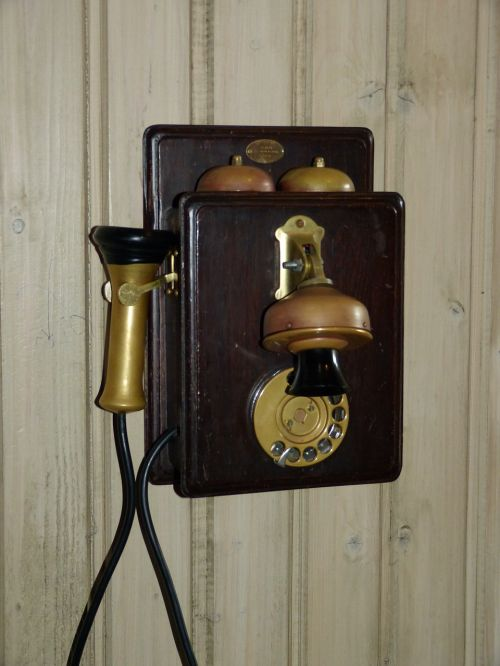 phone historically telephone system