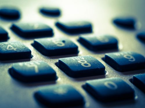 phone digits call