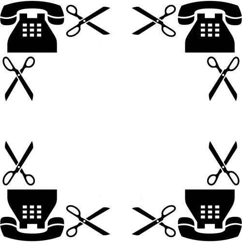 Phone And Scissors