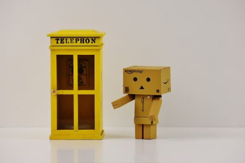 phone booth danbo phone