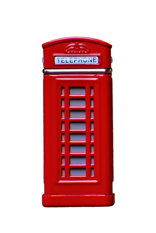 phone booth england red