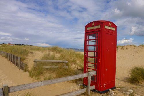 phone booth beach phone south gland