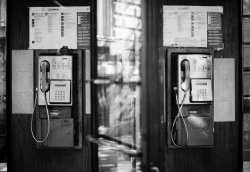 phones wired old