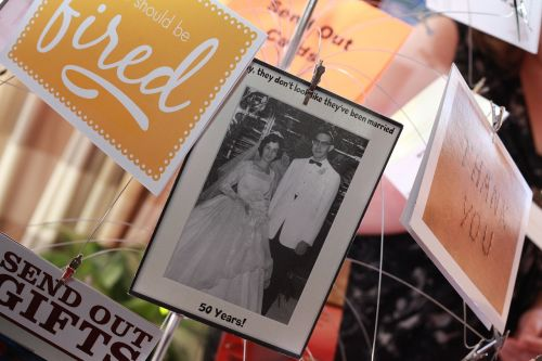 photo cards display