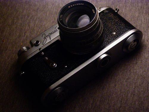 photo camera dawn
