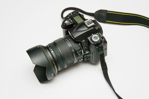 photo camera subject