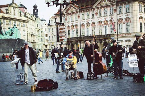 photo musicians street musicians