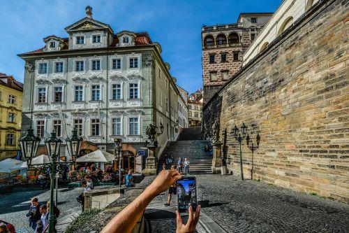 Photo Capture In Prague
