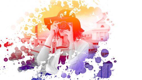 photo manipulation woman effects