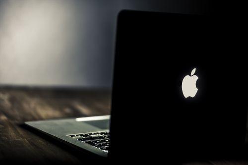 biuras, pradedant, darbo vieta, nešiojamas kompiuteris, stalinis kompiuteris, klaviatūra, rodyti, ekranas, nešiojamas, mobilus, pc, raktai, kompiuteris, technologija, hd, nuotrauka juodas obuolių kompiuteris