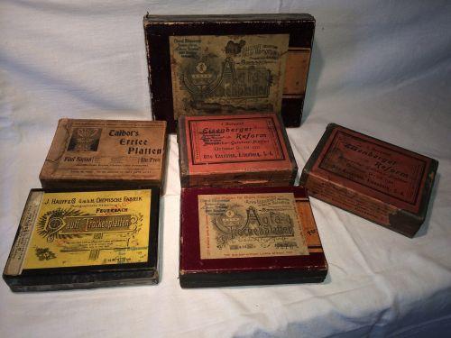 photo plates photography boxes