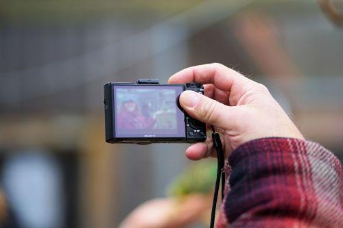 photograph take a snapshot human