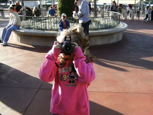 photograph taking a picture camera