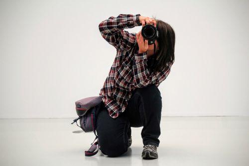photographer take a snapshot photograph