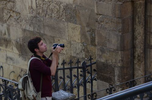 photographer tourist street photography
