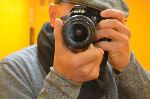 photographer concentration nikon