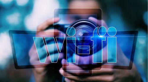 photographer lens wifi