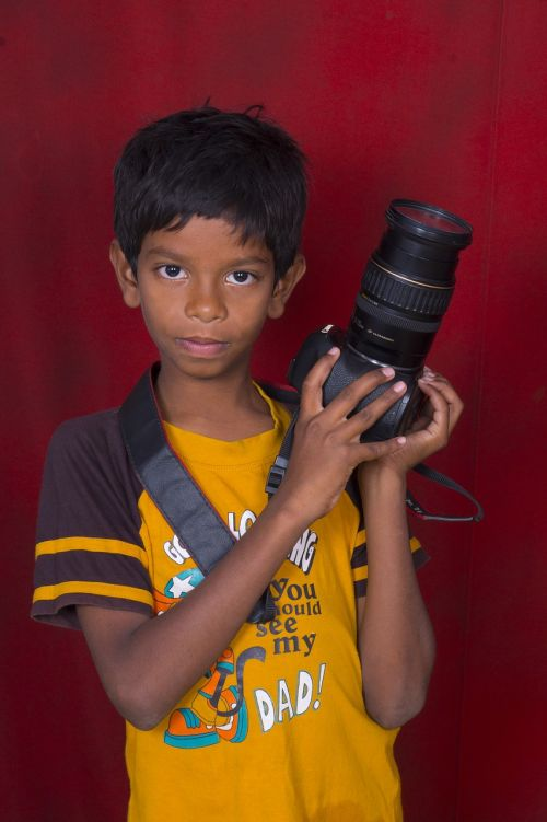 photographer boy indian
