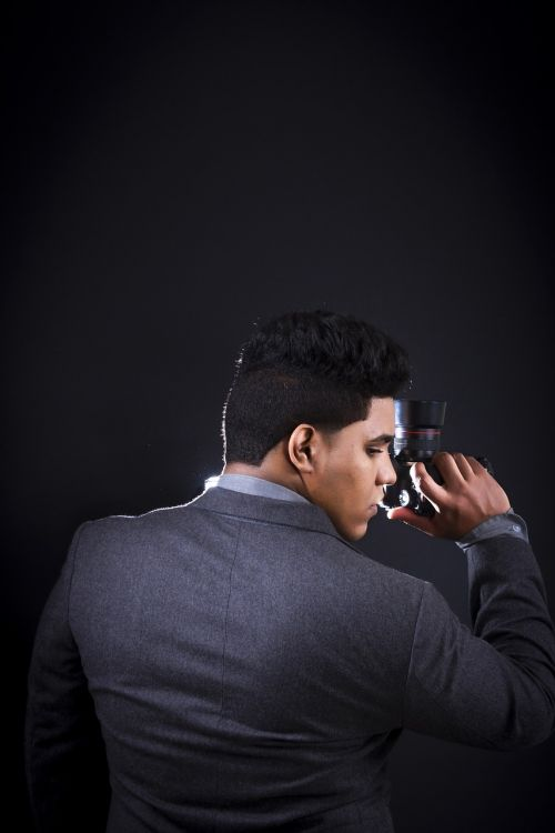 photographer creative camera