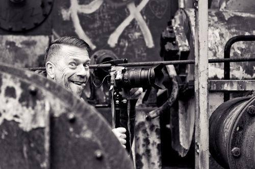 photographer man fun