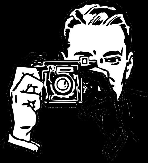 photographer man taking