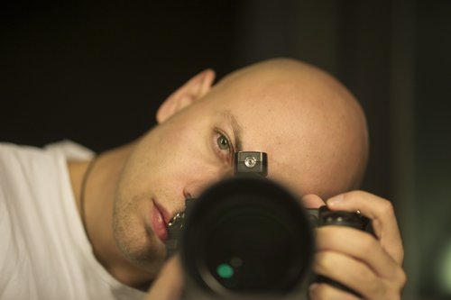 photographer  male  camera