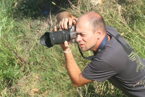 photographer  machine  lens