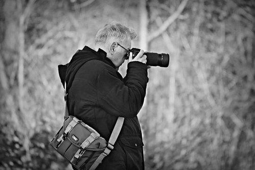photographer  man  camera