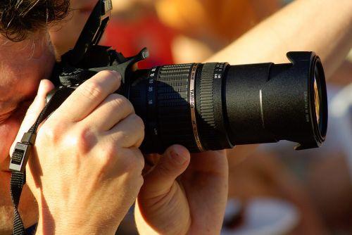 photographer objective zoom