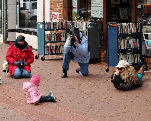 photographers model child