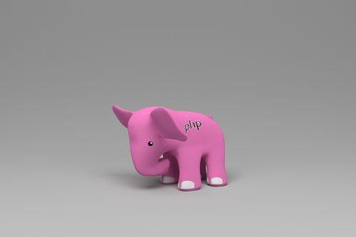 php elephant pink elephant