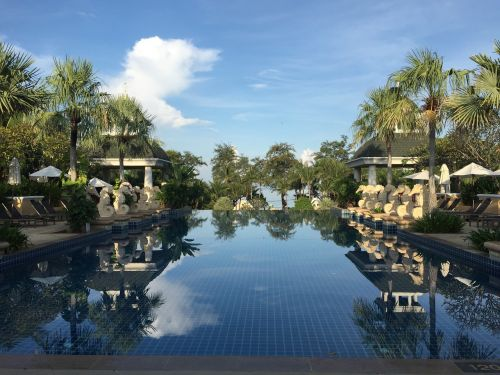 swimming pool phuket resort
