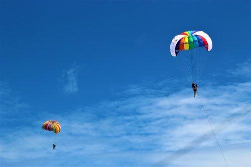 phuket  parachuting  parachute