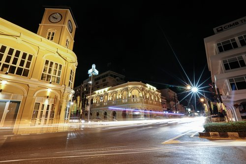 phuket  old town  town