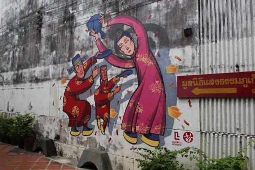 phuket town phuket graffiti