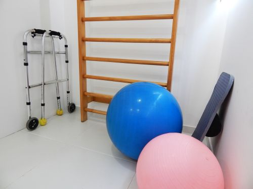 physical therapy pilates office