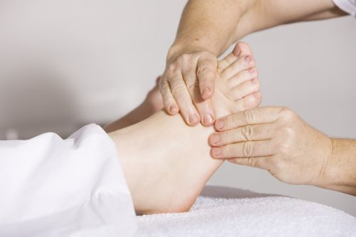 physiotherapy foot massage massage