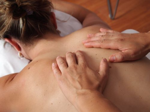 physiotherapy massage back
