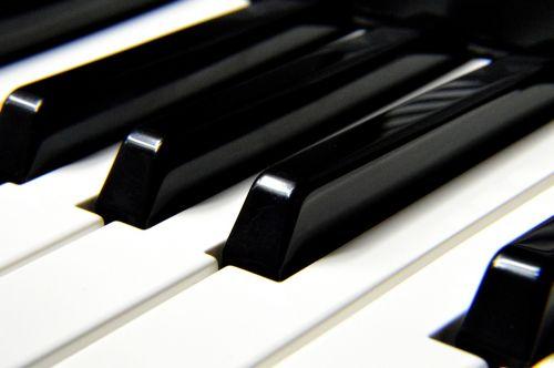 piano keys instrument