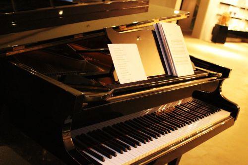 piano score art